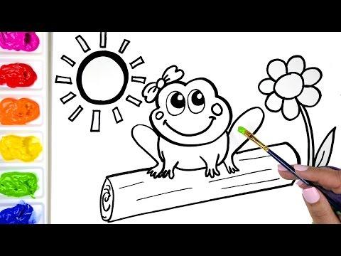 Cómo dibujar Cheeseburger Libro para colorear para niños Aprender ...