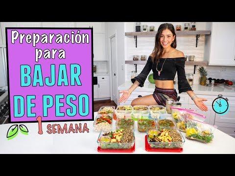 PREPARACION DE COMIDA DE 1 SEMANA PARA BAJAR DE PESO (VEGANO) #2