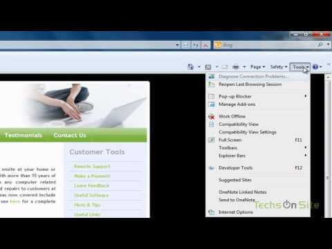 How to add your favorite websites to Internet Explorer Tabs (Watch in HD)