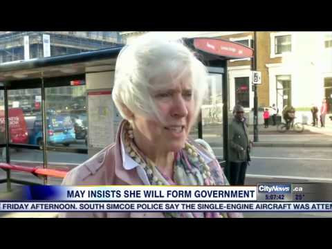 Video: Theresa May to stay on as UK PM despite losing majority