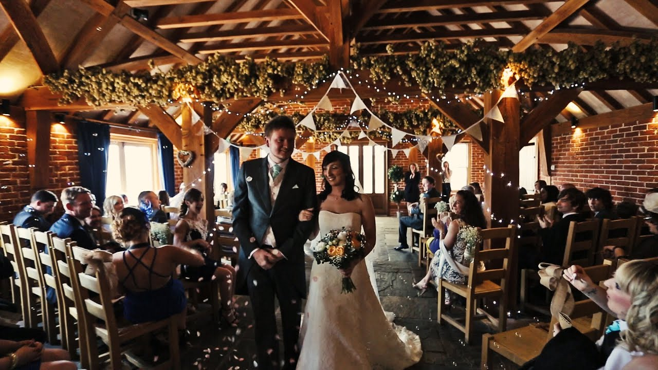 English Wedding at The Ferry House Inn, Harty, Isle of Sheppey - YouTube
