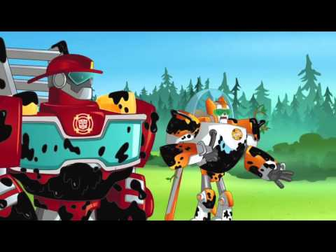 Transformers Rescue Bots Optimus Rescues The Rescue Bots