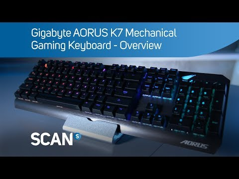 Gigabyte AORUS K7 Cherry MX Red RGB Mechanical Gaming Keyboard