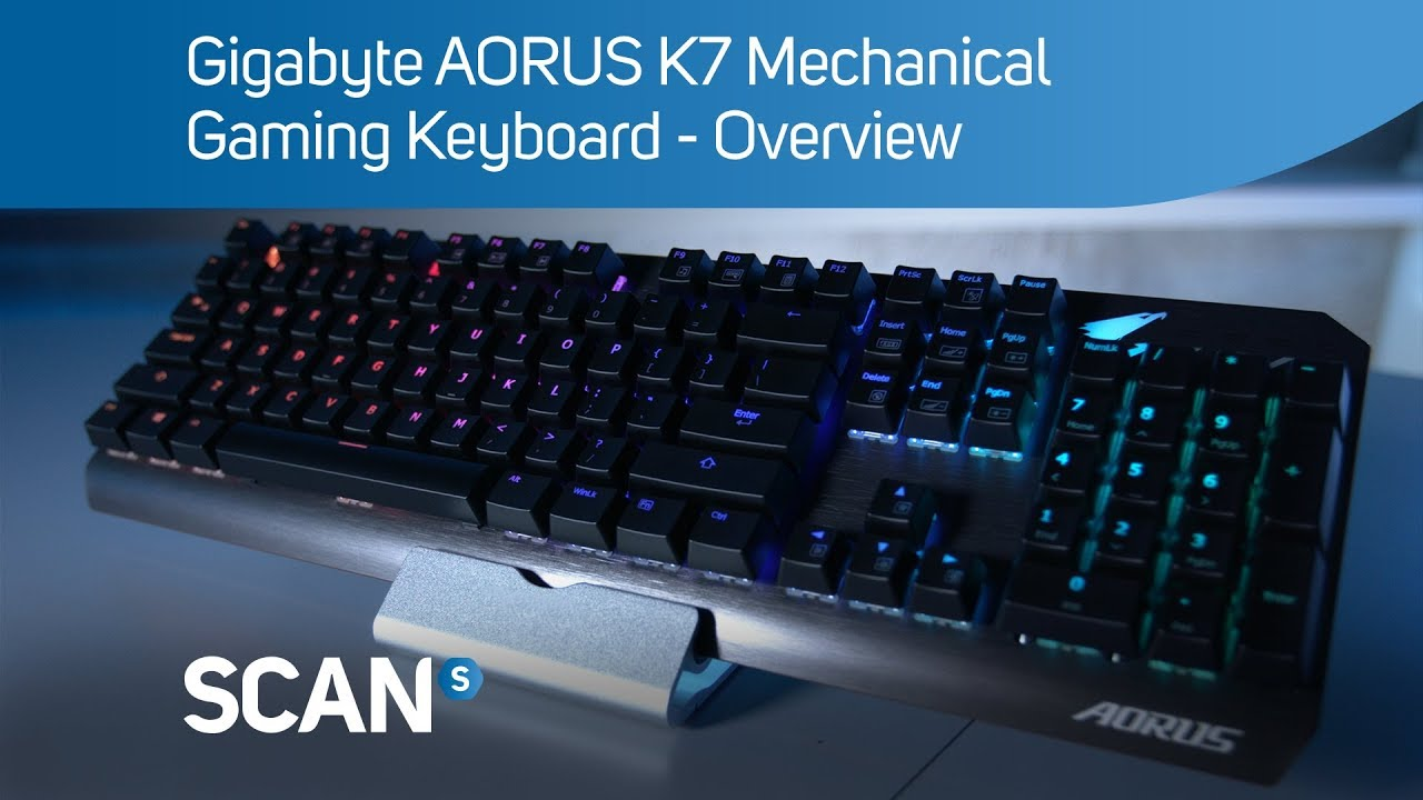 Gigabyte AORUS K7 Mechanical Gaming Keyboard – Overview