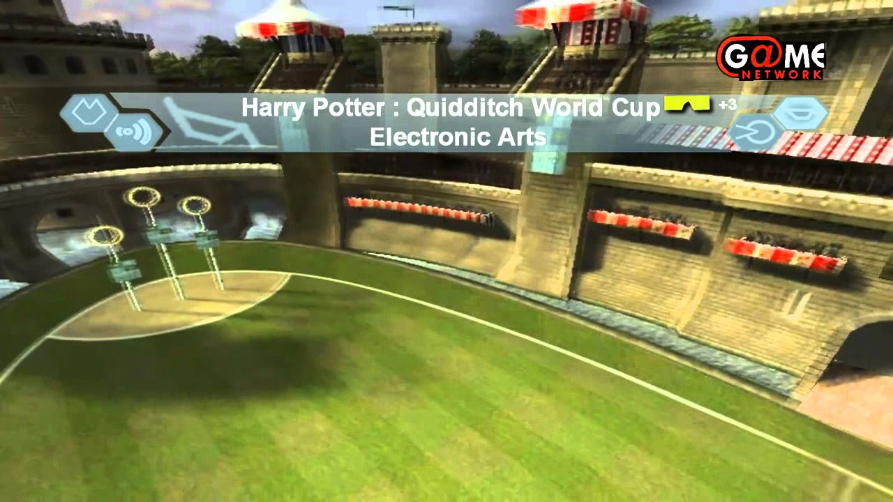 Harry Potter Quidditch World Cup Game Clip Youtube