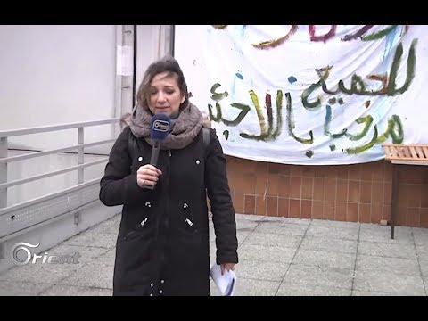 لاجئون يستولون على جامعة في باريس ويعتصمون فيها – مهجركوم