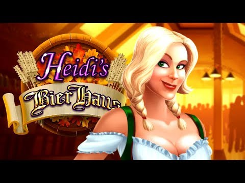 Heidi's Bier Haus Slot - NICE SESSION, ALL FEATURES!