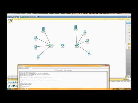 Connecting two networks using the Cisco 2811 (Cisco Packet Tracer)
