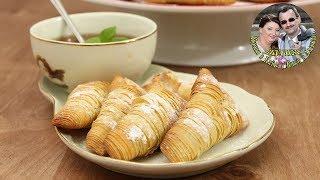 Королева итальянской выпечки. Хрустящее пирожное Сфольятелла к чаю. Из теста Фило. Ну очень вкусно.