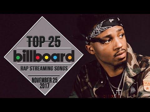 Top 25 • Billboard Rap Songs • November 25, 2017 | Streaming-Charts