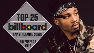 Top 25 • Billboard Rap Songs • November 25, 2017 | Streaming-Charts 2017 Video