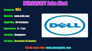 DURGASOFT Jobs Alerts    Jobs for Experienced and Freshers !!! (22-01-2019)