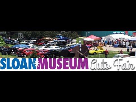 Sloan Museum  Auto Fair   /  Part-2  of  2  /  2015