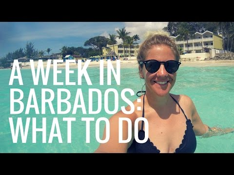 A Week Holiday in BARBADOS: What to DO!