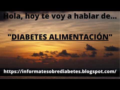 diabetes-alimentaciÓn