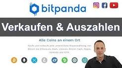Bitpanda - Verkaufen & Auszahlen auf das Bankkonto