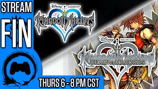 KINGDOM HEARTS 1 FINALE - CHAIN OF MEMORIES Part 1 - Stream Four Star - TFS Gaming