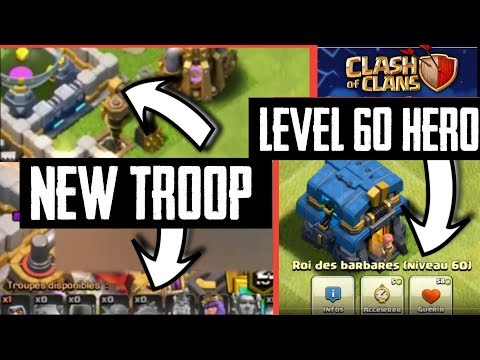 TOWN HALL 12: NEW TROOP + LEVEL 13 WALLS LEAK - CLASH OF CLANS