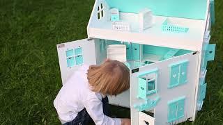 видео Кукольные домики ручной работы