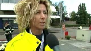 Albert Heijn Waalwijk ontruimd wegens brand