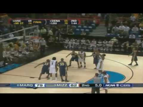 2009 March Madness - Final Minutes - Marquette vs. Mizzou