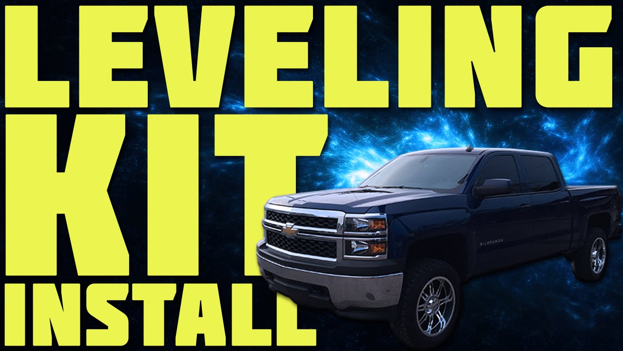 2014 Chevy Silverado Leveling Kit Install Youtube 2015 Fog Light Wiring Harness