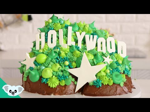 Hollywood Sign Cake | Amazing and Satisfying How To Ideas | Koalipops