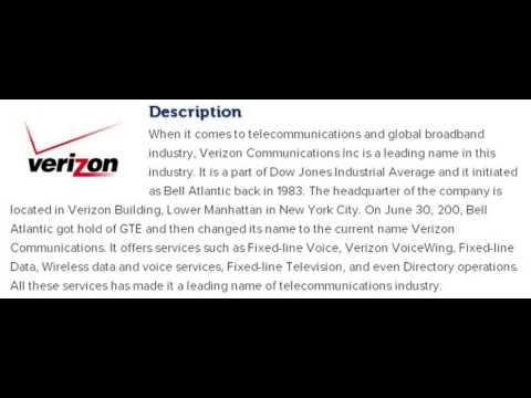 Verizon Communications Inc Corporate Office Contact Information
