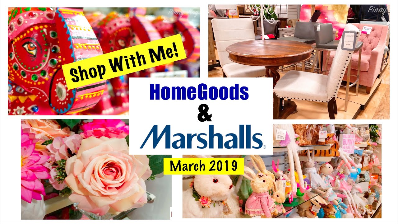 Shop With Me At Marshalls & HomeGoods: Spring And Easter Collection 2019