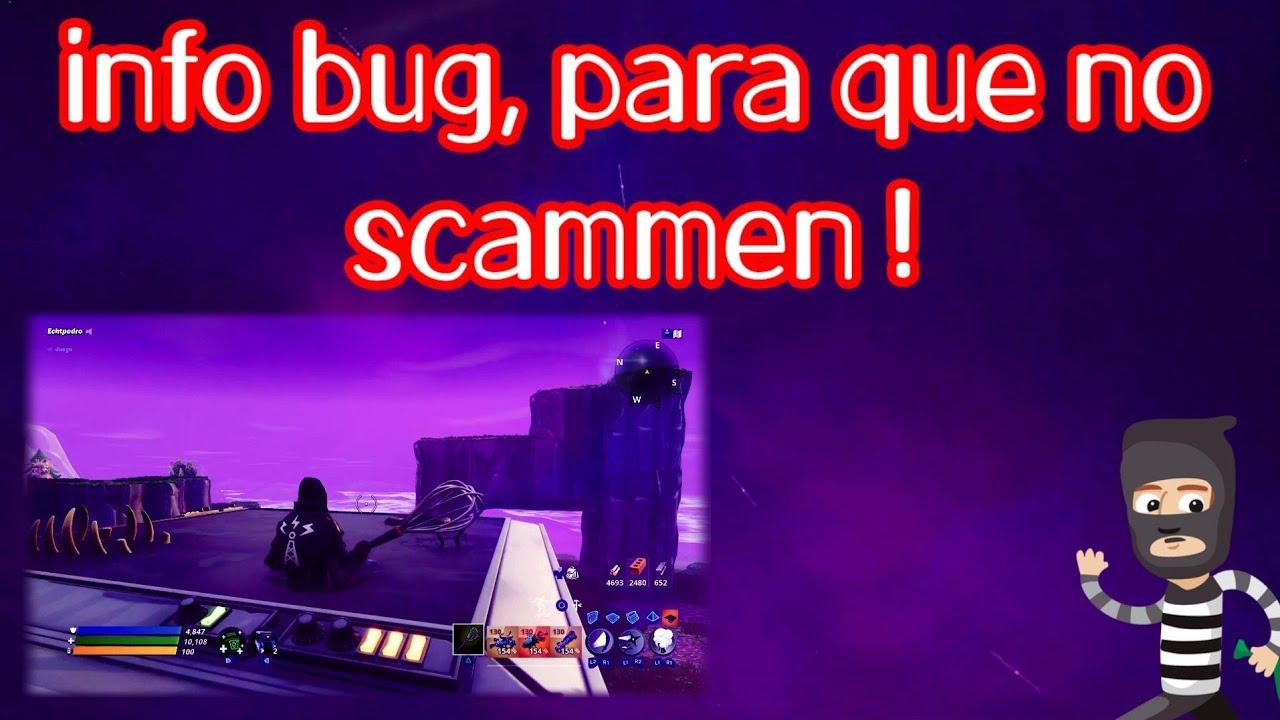 BUG| TRAMPAS INVISIBLES SCAMMERS SALVAR EL MUNDO FORTNITE