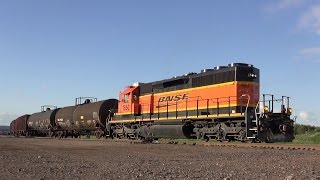 Ep. 453: BNSF Funky Horn! A Local Train in Superior, WI