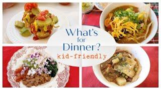 What&#39s for Dinner? 9 Kid-friendly Dinner Ideas