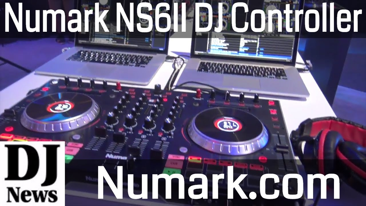 virtual dj numark ns6ii