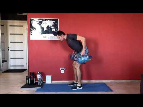 Онлайн домашняя тренировка на карантине. Crossfit Home Workout