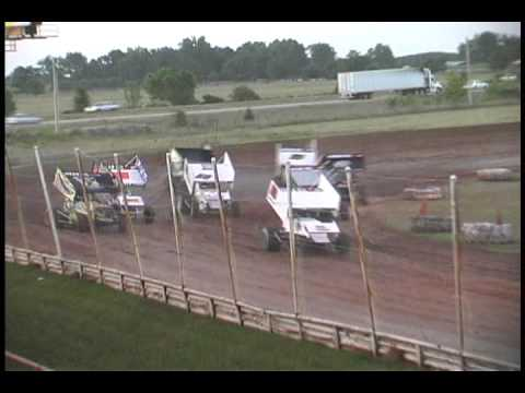ASCS Speedweek Night #1 6-5-09 Highlights from 67 Speedway in Texarkana, AR