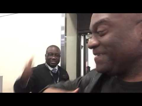 Kevin Brooks: United Airlines Atlanta Agent Greets SFO Passengers At Gate
