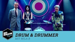 Drum & Drummer mit Bela B [Teil 1] | NEO MAGAZIN ROYALE mit Jan Böhmermann - ZDFneo YouTube Videos