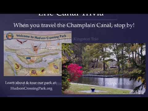 Erie Canal trivia game by Hudson Crossing Park, Schuylerville