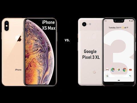 iPhone XS Max vs Google Pixel 3 XL | The Ultimate Battle Of Biggies In 2018