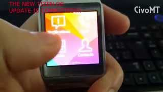 Samsung Galaxy Gear update to TIZEN OS via KIES 3-Step by Step (7Steps and completed)