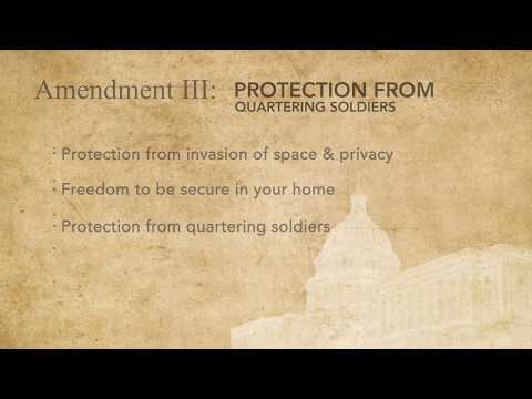 Civil Rights and Liberties - U.S. Bill of Rights