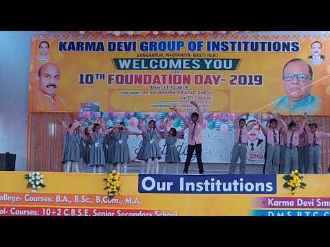 Bara Dushman Bana Phirta Hai Jo Bachon Se Larta Hai.|Dance Performance By Omni International School.