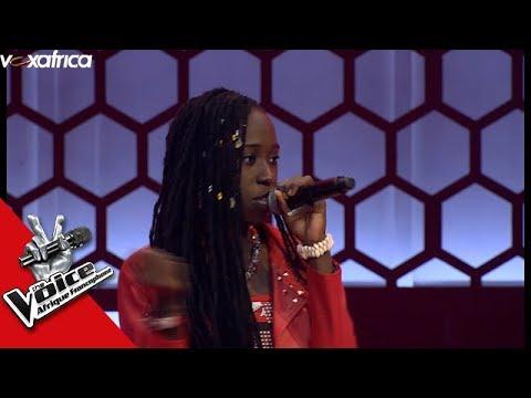 Flora' Shy Guy ' Diana King Audition à L'aveugle The Voice Afrique Francophone 2017