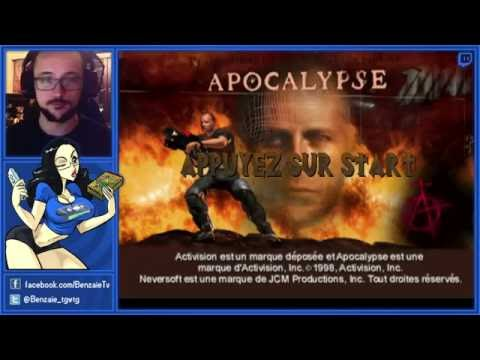 Bruce Willis Simulator - Apocalypse (PS1) - Benzaie Live
