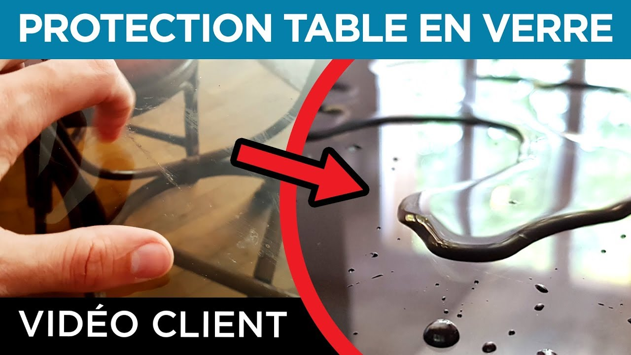 Verre Protection Table Résultat Client 3 Protection Table De Salon En Verre Traitement Nanoprotection