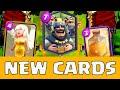 NEUE KARTE Der König ?! Clash Royale Update Ideen #2 [Deutsch/CR]