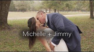 Michelle + Jimmy Wedding Video   Brooksville, Florida   The White Barn