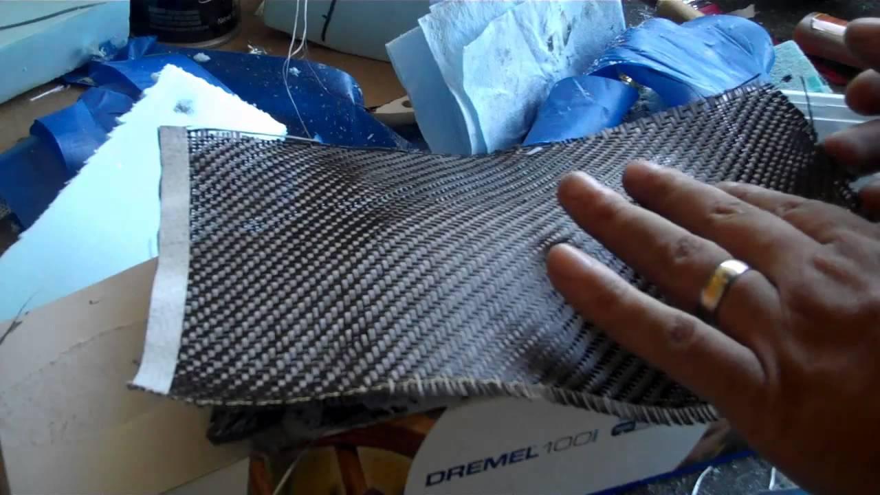 d i y making a carbon fiber part youtube. Black Bedroom Furniture Sets. Home Design Ideas
