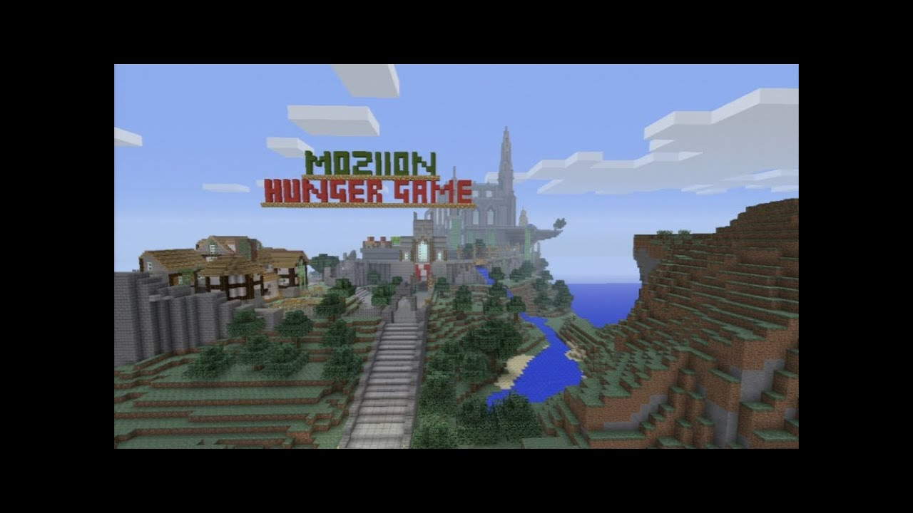 MINECRAFT PS EDITION EUUS HUNGER GAMESPVP DOWNLOAD - Hunger games mapped on us