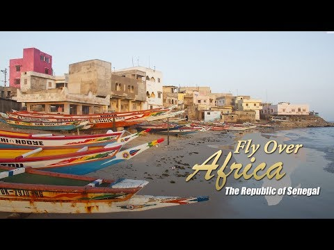 Fly over Africa – The Republic of Senegal